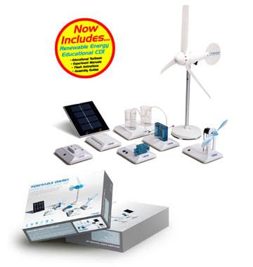 The Renewable Energy Science Education Set