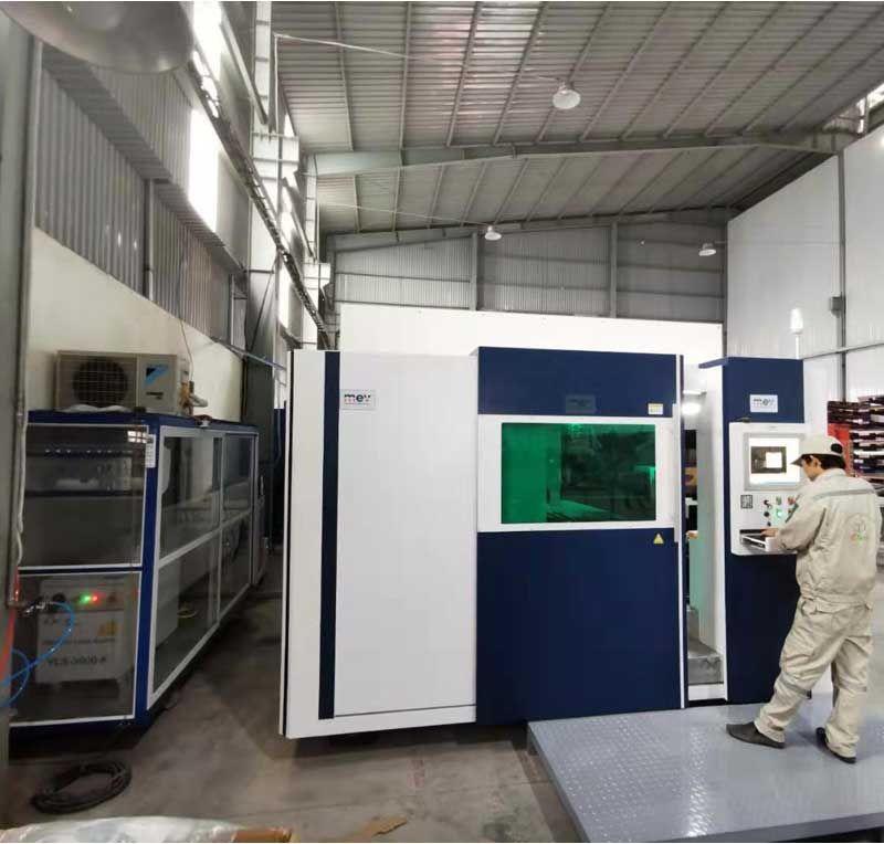 1000w 2000w 3000w CNC Metal Fiber Laser Cutting Machine