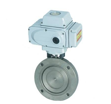 Electrical Vacuum Butterfly Valve