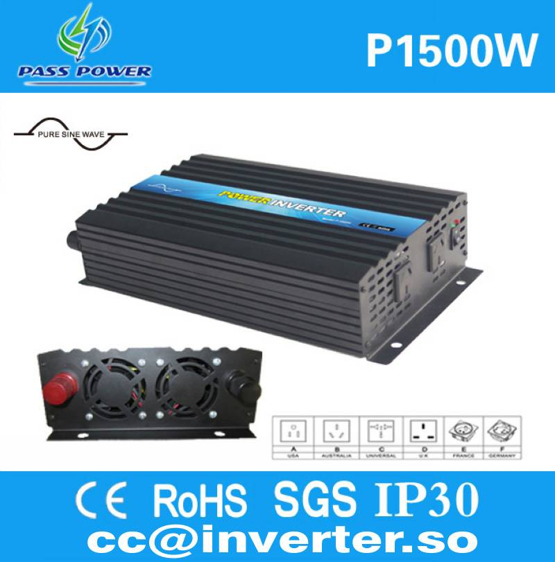 Factory Direct Sell Pure Sine Wave 1500W DC to AC Inverter