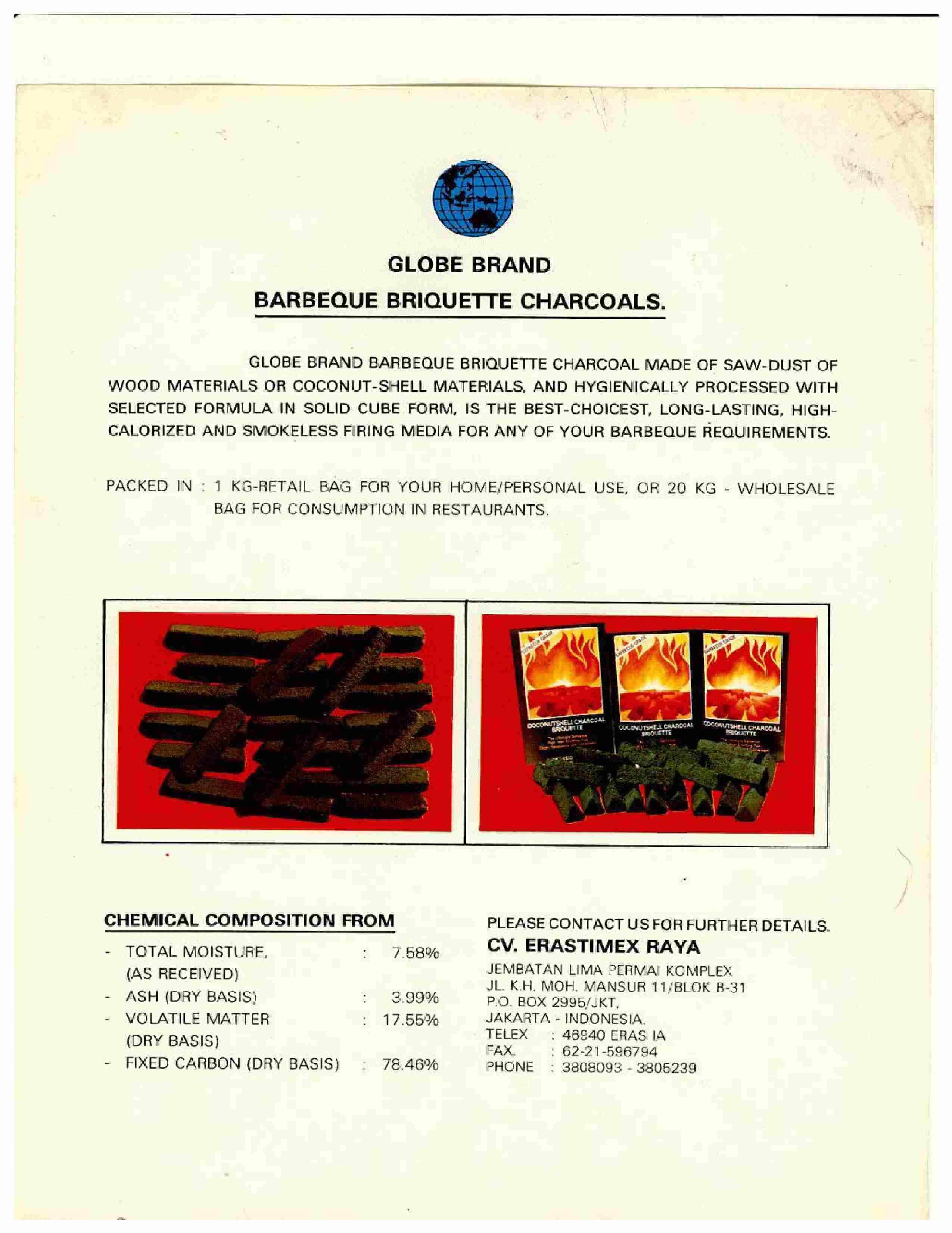 Barbeque Charcoals