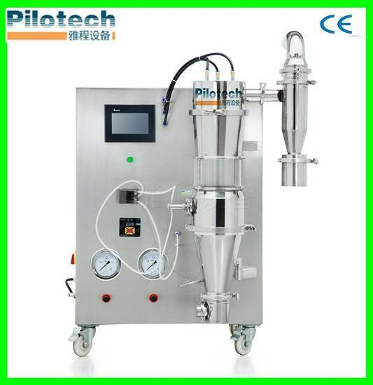 Polymer and resin spray granulating machine