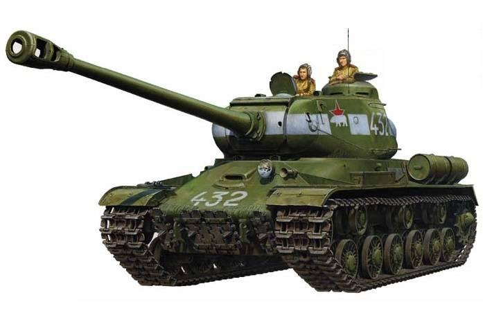Tamiya 1/16 scale Russian Heavy Tank JS-2 Model 1944 ChKZ R/C Tank