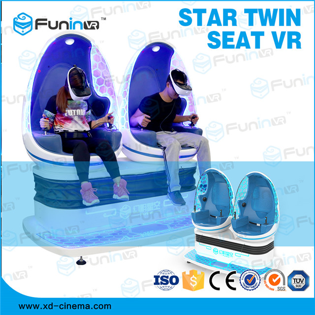 Selling popular product new design Star Twin Sweat VR egg cinema for sale