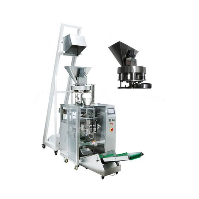 Automatic volumetic cups VFFS packaging line
