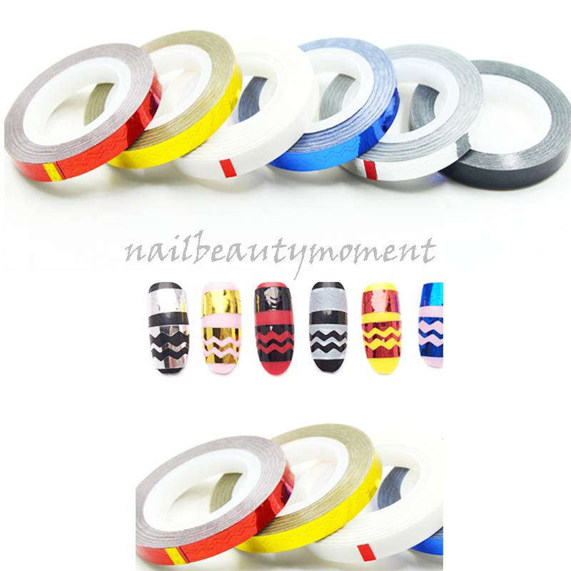 Art Nail Curve Striping Tapes Manicure Decoration Products (D35)