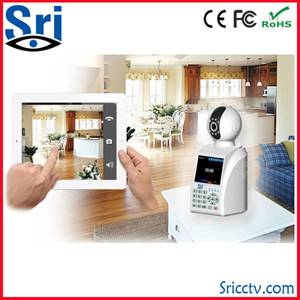 Free video call network phone camera remote monitor H.264 0.3 megapixel email alert wireless magapix