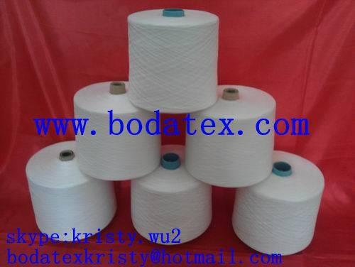 100% polyester yarn spun manufacturer, China supplier
