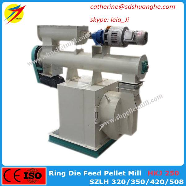 Low price poultry and animal feed pellet mill pelletizer machine