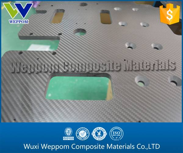 10MM Carbon Fiber CNC Processing Plate