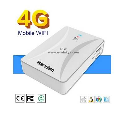 Band4 LTE 4G hotsport WIFI router power band with a Lan port