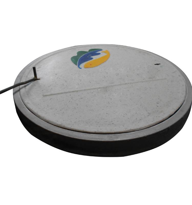 Sell fiberglass reinforced plastic Manhole Cover with Frame EN124 D400 diameter: 600mm
