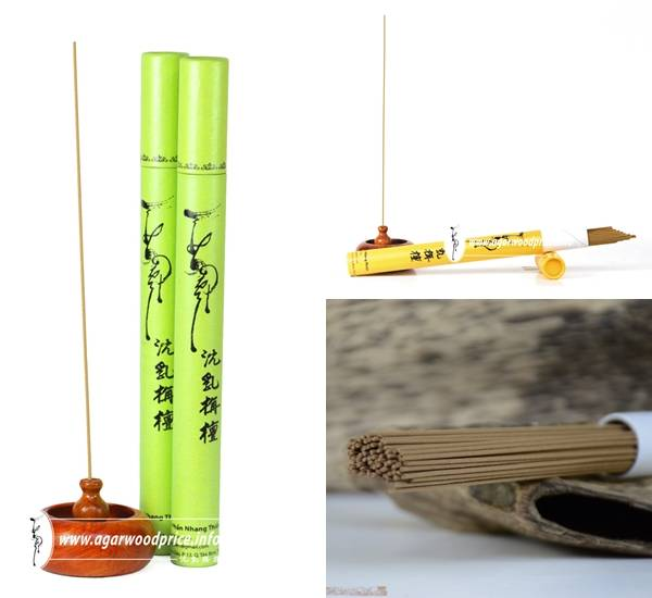 Incense without bamboo stick for Meditation, Yoga, Relax - Incense from Pure Agarwood Powder