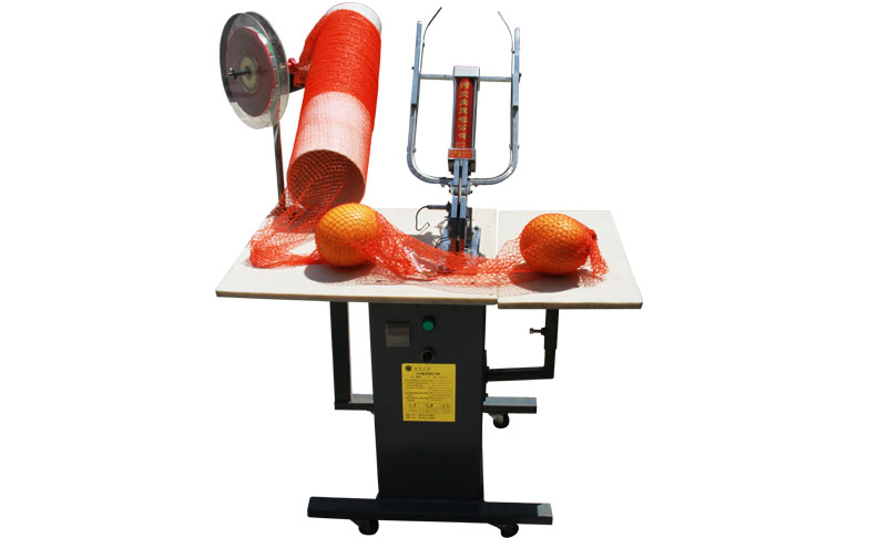 double clip mesh bag clipping machine