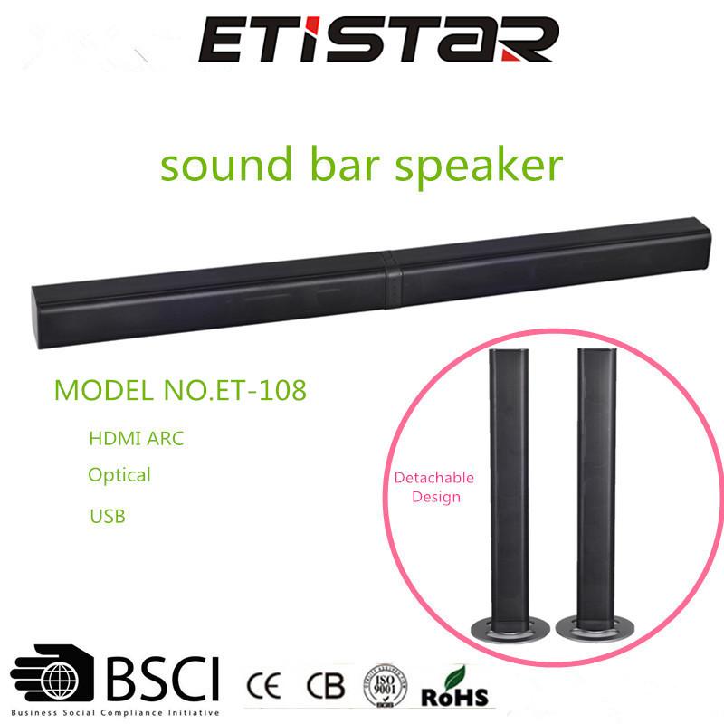High Quality And pretty Gift soundbar with bluetooth