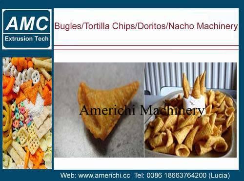 Tortilla chips machine
