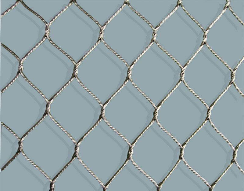 stainless steel knotted mesh,hand woven mesh,bird netting