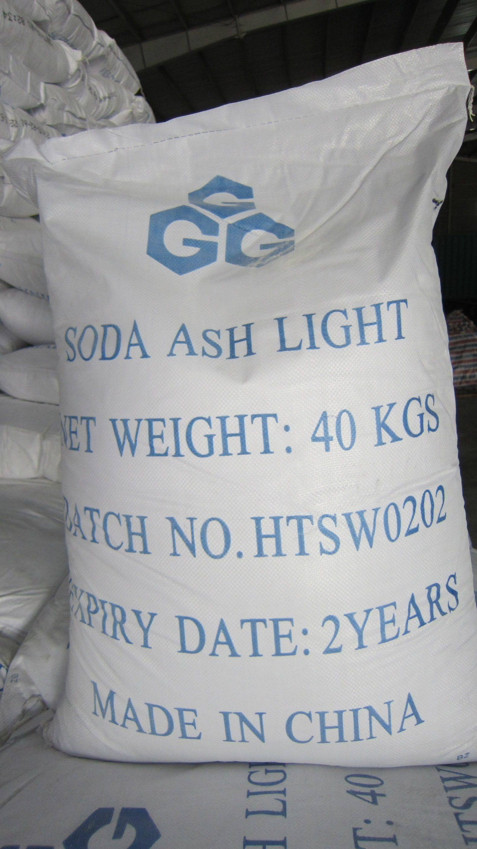 Soda ash light 99.2%,Sodium Carbonate use in textile,paper making,dyeing