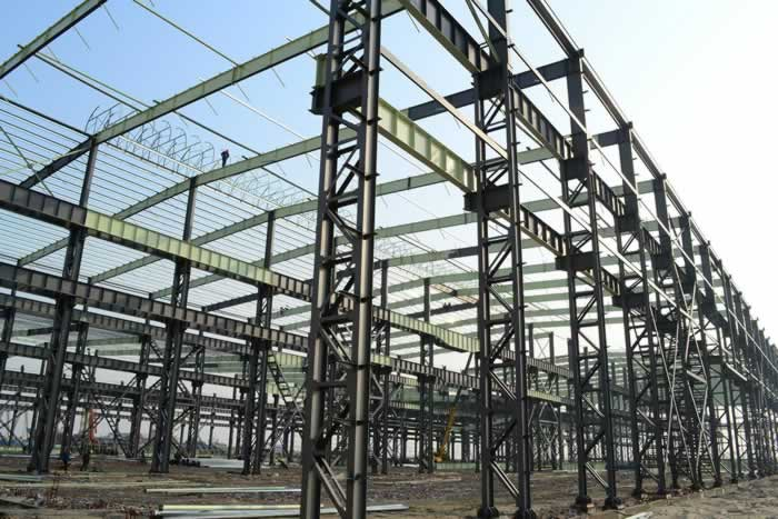 Pre engineering steel structure shed-nanyang xinxing steel structure co.,ltd
