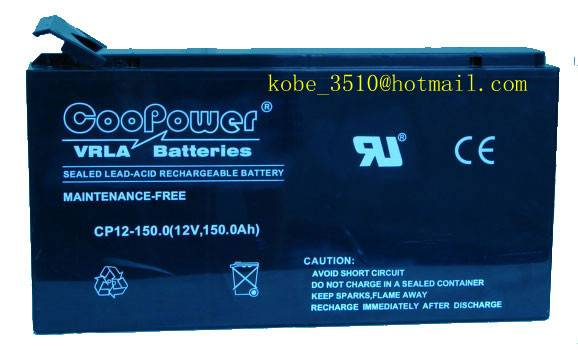 VRLA AGM 12V150AH Battery