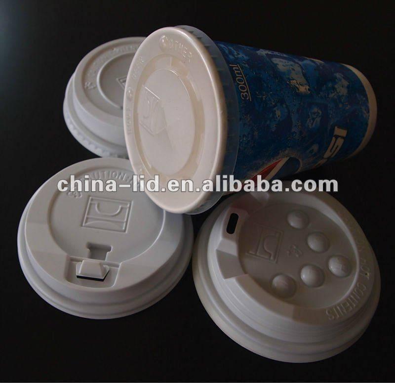 Plastic flat lid