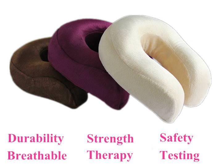 memory foam U shape neck pillow