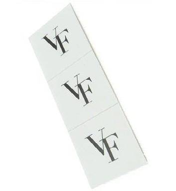 customized PVC adhesive sticker labels for cosmetic