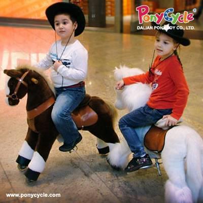 PonyCycle Plush Toy Amusement Rides On toy
