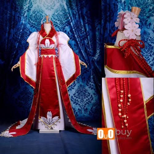 Selling Tsubasa Sakura Inbetweening Dress Cosplay Costume