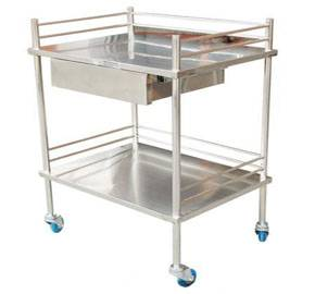 Multifuction medical trolley with drawer RCS-H0I22
