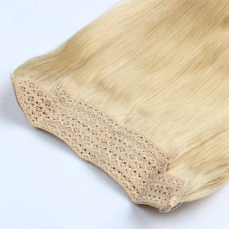 100% human hair skin weft