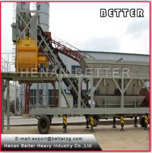 Advanced sale YHZS50 mobile concrete batching plant