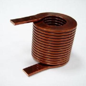 Flat Coil, Nice for High Frequency Applications, with Low Profile and Firm Structure