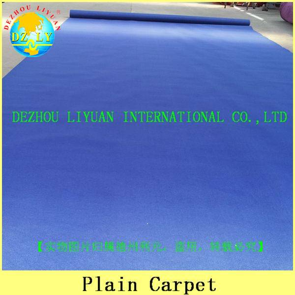 Promotional 100% polyester exhibition carpet
