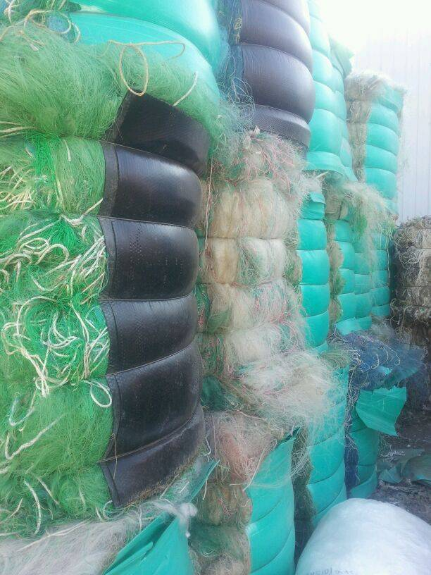 we are looking for nylon pa fishing net scrap
