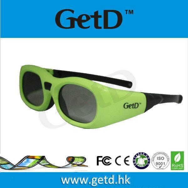 Cheap 3D Glasses Active Shutter Converter Support Shutter Glasses