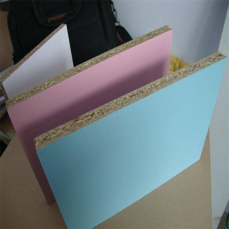 E2 grade glue melamine particle board factory