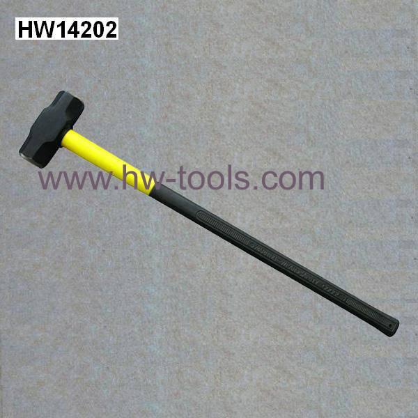 sledge hammer with fibreglass handle