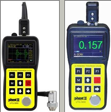 Ultrasonic Thickness Gauge w/A & B Scan and Thru Coating Capability