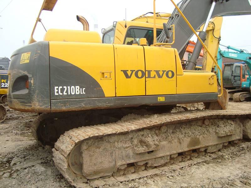 Used Volvo Excavator E210b