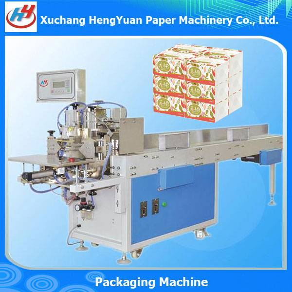 Napkin Paper Facial Tissue Soft Packing Machine