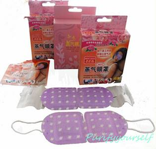 Hot sale in Japan: Steam eye mask from professional factory in China