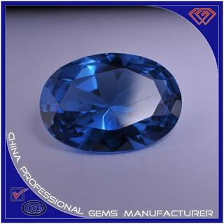Blue Sapphire Dimetric Synthetic Spinel