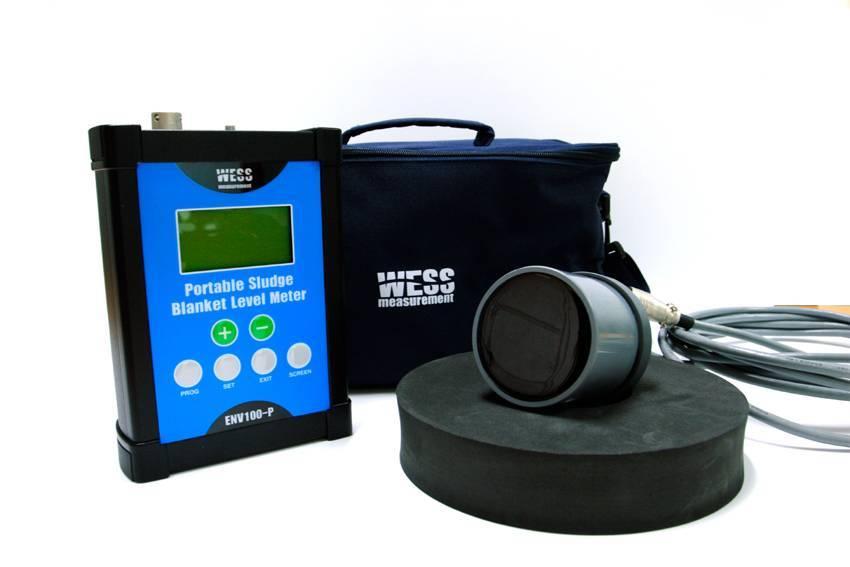 Portable Ultrasonic Sludge Blanket Level Meter - ENV100-P