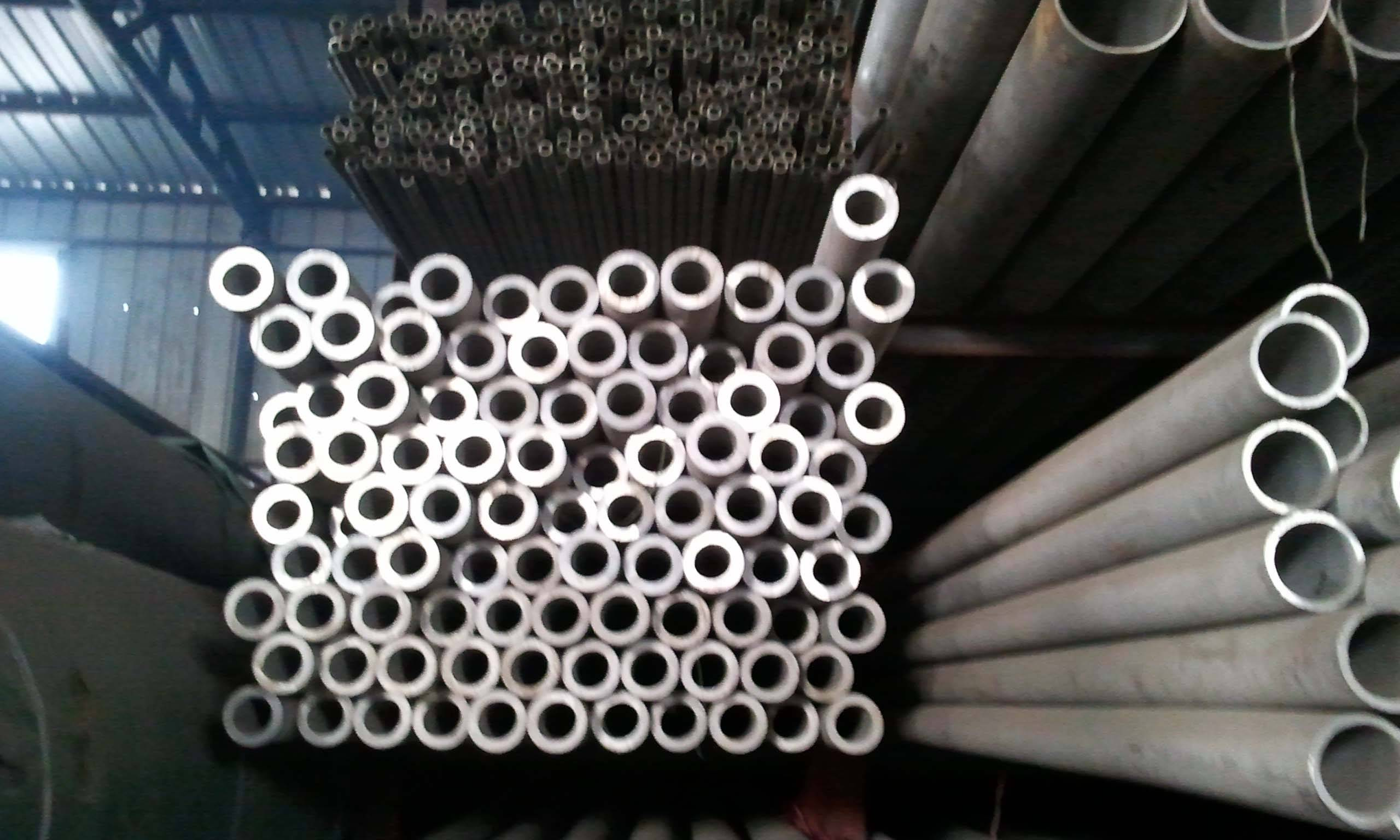 polished 321 stainless steel pipe