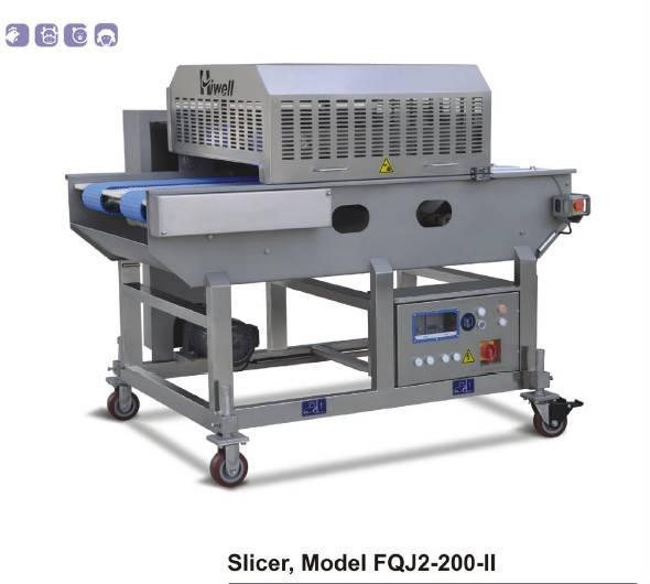 Factory Chicken Butterflying Meat Slicer Machine Model FQJ2-200-II