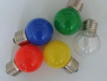 China manufacturer 12V 18W g4 colorful G45 B22 halogen bulb