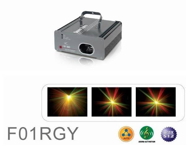 Laser Stage Light - Step Motor Series - F01RGY