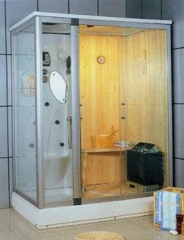 sauna shower room