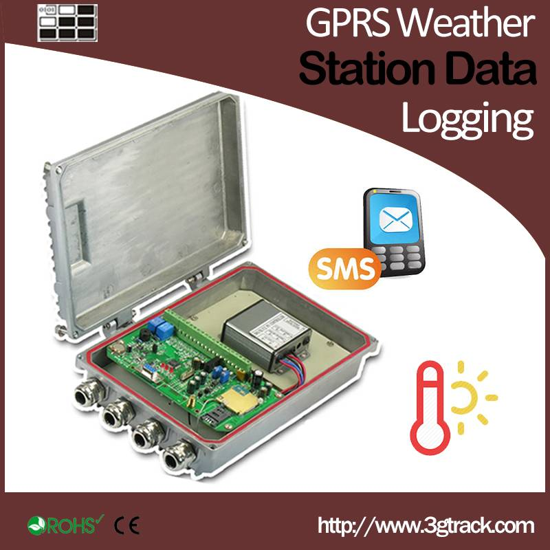GPRS Weather Station Data Logging